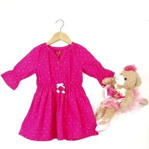 Oshkosh Fuchsia Play & Party Dress 2 T